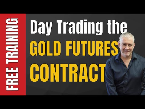 Day Trading the Gold Futures Contract. GC.