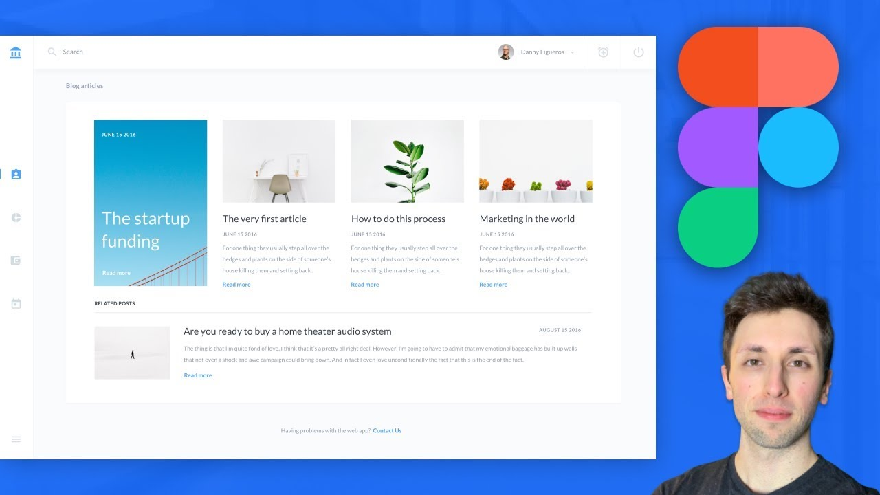 Figma Tutorial Saas Web App Ui Design Figma Tutorial For Beginners Mp4 Youtube