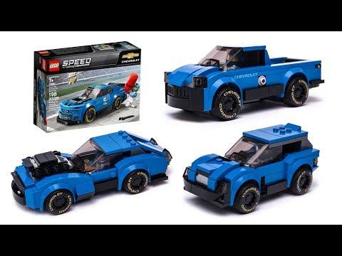LEGO 75891 NEW alternative build model car mocs