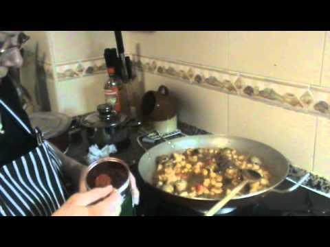 C mo hacer fideua de marisco las recetas de pepa youtube - Youtube fideua de marisco ...