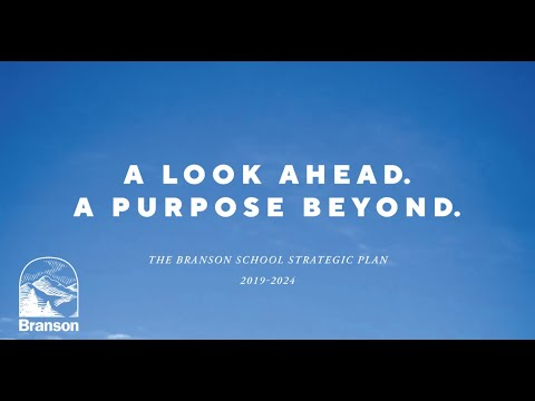 The Branson School Strategic Plan