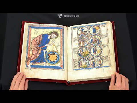 DIE BIBLE MORALISÉE - Blättern im Faksimile (4k / UHD)из YouTube · Длительность: 3 мин2 с