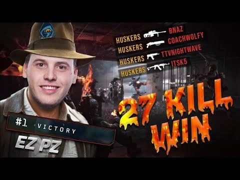 CoD Blackout | 27 KILLS SOLOS 2ND BEST RECORD