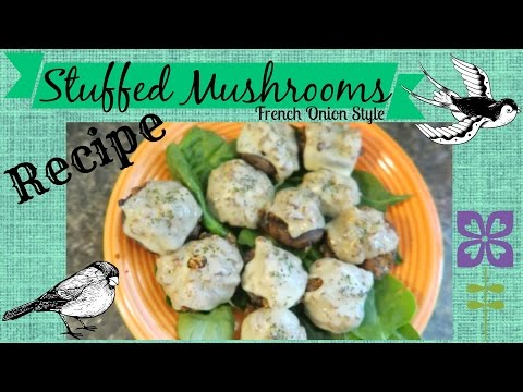 Kitchen Swap | French Onion Stuffed Mushroom Recipe
