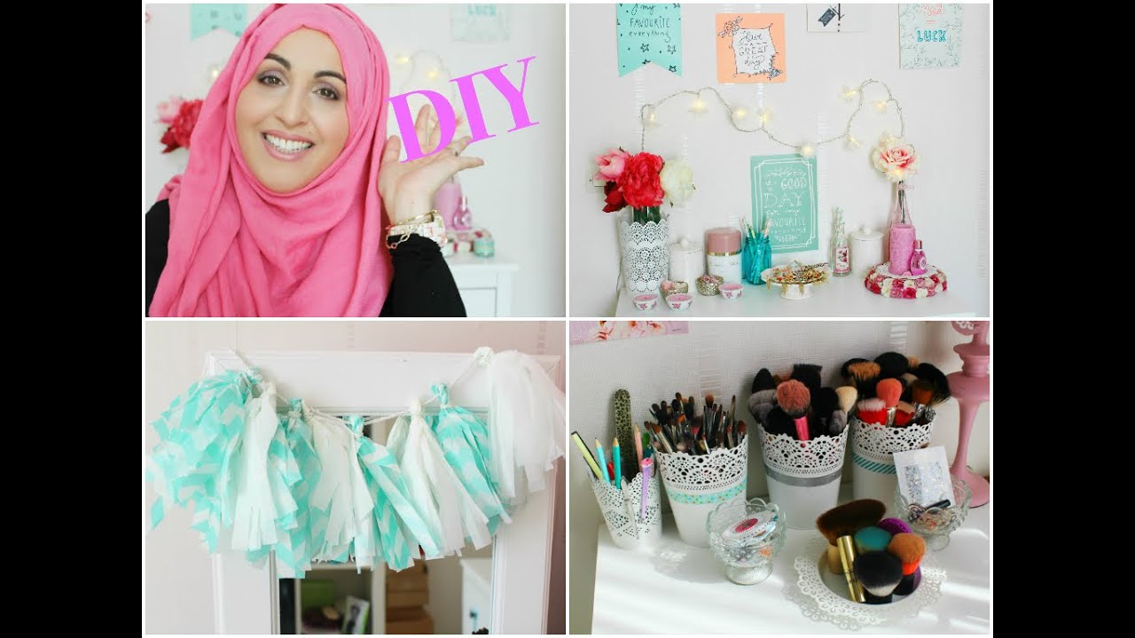 Diy Spring Room Decor D Co Printemps Asmamakeup Youtube