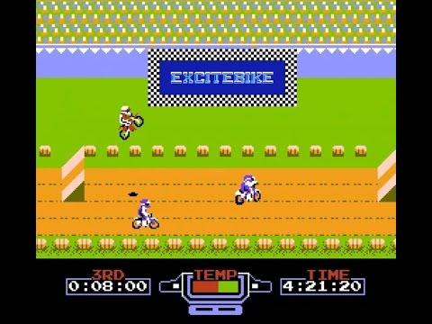 NES Game #1 Excitebike - เกมแข่งรถมอไซค์ที่ทั้งเหนื่อยทั้งฮา