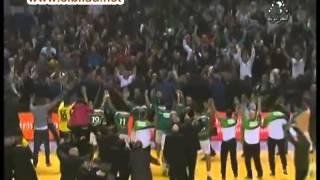 ملخص مباراة الجزائر تونس نهائي كرة اليد + التصريحات