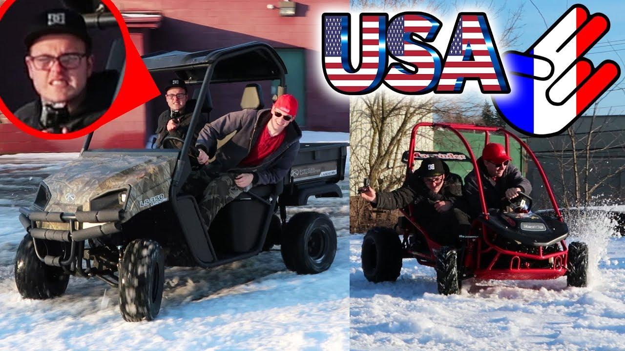 Best BUDGET UTV?!? Top Speed, Drifting, Review (American Landmaster)