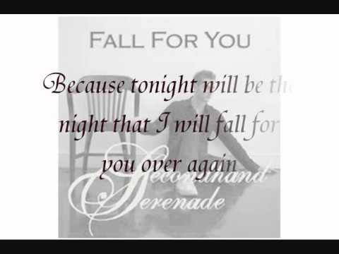 Fall For You - Secondhand Serenade (piano instrumentals + lyrics)
