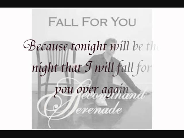 Fall For You Secondhand Serenade Piano Instrumentals Lyrics