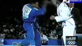 Judo 2000 Sydney: Benboudaoud (FRA) - Giovinazzo (ITA) [-66kg].