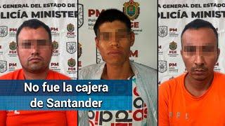 Falso cliente, y no cajera de Santander, quien dio pitazo a asaltantes