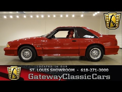 1988 Ford Mustang GT - Gateway Classic Cars St. Louis - #6245