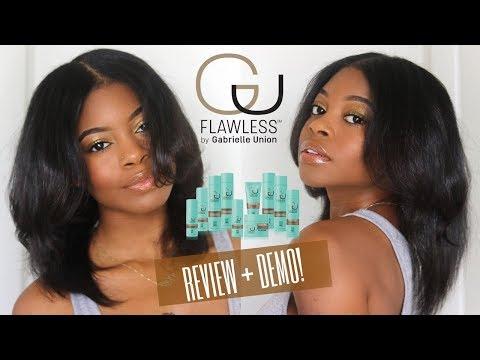 """I STRAIGHTENED MY HAIR  Gabrielle Union's """"Flawless"""" Demo + Review"""