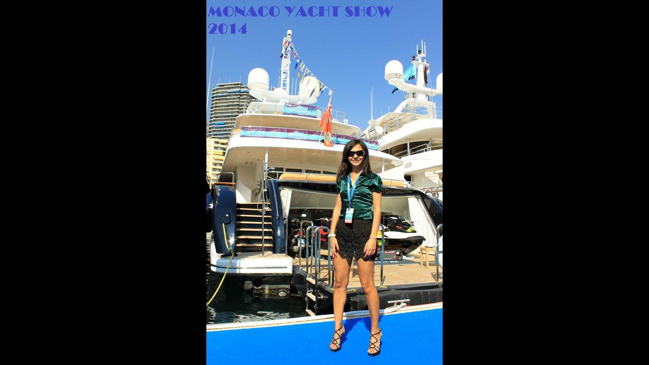 MONACO YACHT SHOW 2014 YouTube