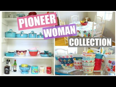 My Pioneer Woman Collection! + Review