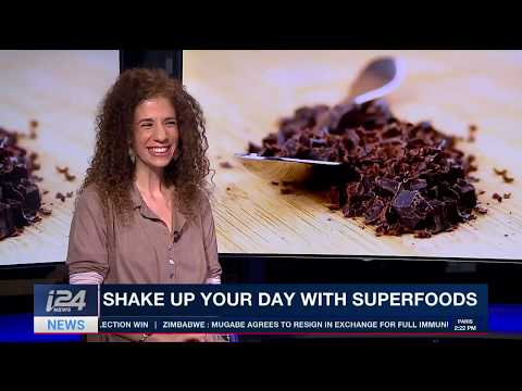 Superfood specialist Umina Kedmy Live on the health benefits of raw cacao
