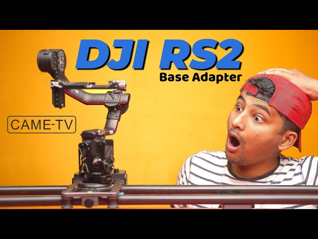 Came TV | DJI RS2 Base Adapter | Gimbal Base Adapter | MKII | D-Tap Cable | Unboxing & Review