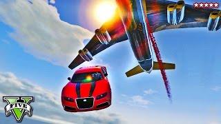 GTA 5 Cargo Plane MOD MADNESS!! STUNTS & GAMEPLAY w/Team Epiphany (GTA 5 Funny Moments)