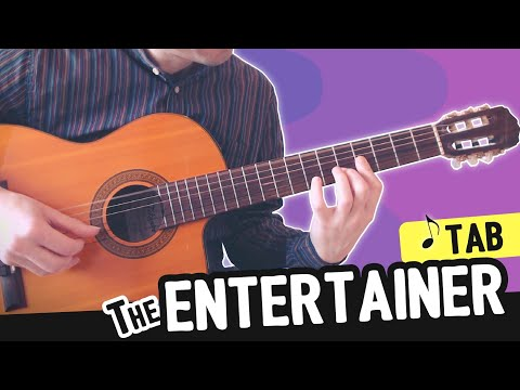 The Entertainer = Guitar Cover + TABs