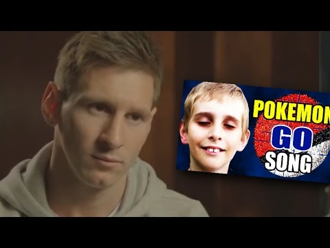 Lionel Messi reagiert auf Pokémon Go Song