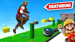 Super Mario *DEATHRUN* (Fortnite Creative AKA Super Mario Maker 2)