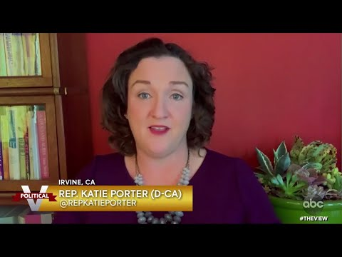 Katie Porter on The View