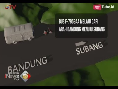 Kronologi Kecelakaan Maut di Tanjakan Emen Subang, Diduga Rem Blong - BIP 11/02