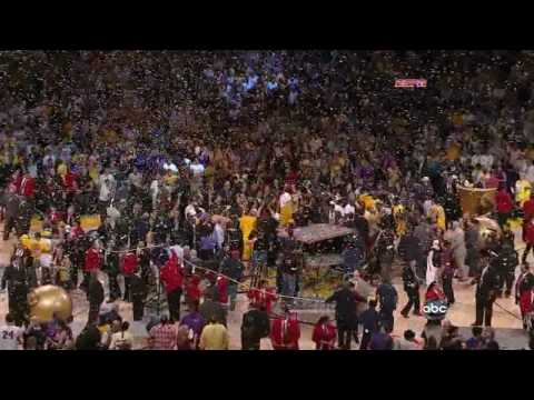 Lakers/Celtics 2010 NBA Finals Game 7 Finale
