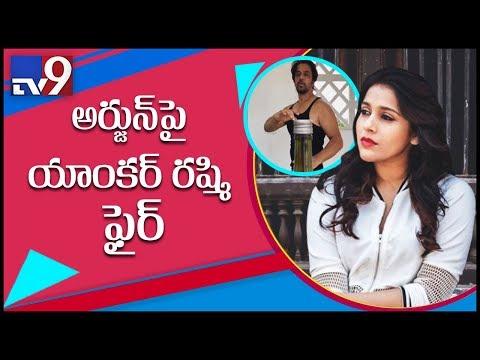 Anchor Rashmi Fires On 'bottle Cap' Challenge Viral On Social Media - TV9