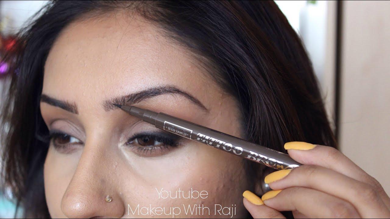 New Review Demo Kat Von D Precision Eyebrow Pen Medium Brown