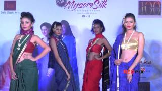Download Video Mysore silk saree fashion show -- Models in sexy sarees - Red Pix MP3 3GP MP4