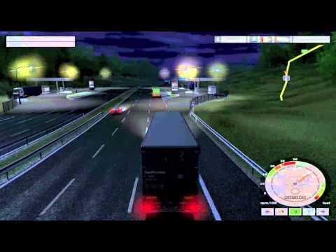 #GamePlay : Euro Truck Simulator sur Mac