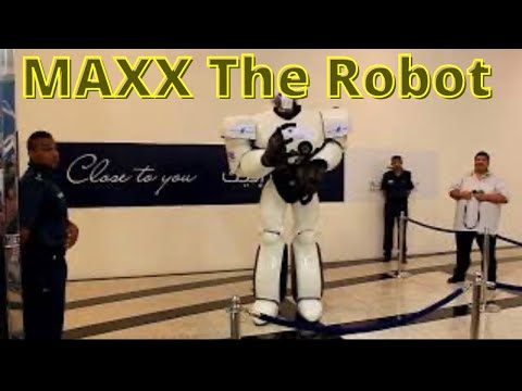 MAXX The Robot Visits Muscat Grand Mall