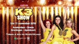 Kom zingen en dansen tijdens de nieuwe K3 show!