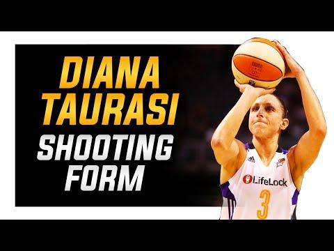 Diana Taurasi Shooting Form: WNBA Shooting Secrets
