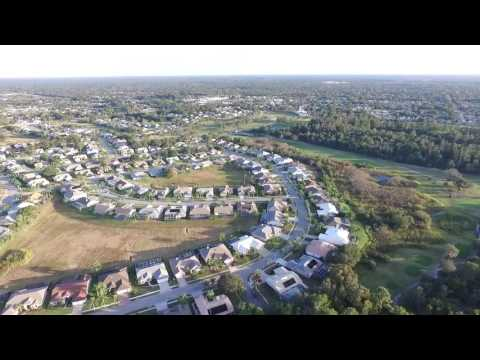 Phantom 3 Flying Over Hudson, FL During Evening Hours