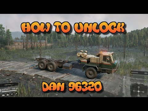 SnowRunner - How To Unlock The DAN 96320 | Best Heavy Truck!