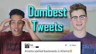 Reacting To The Dumbest Tweets