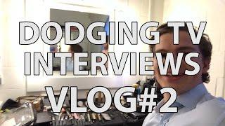 DODGING TV INTERVIEWS | TU DELFT VLOG#2