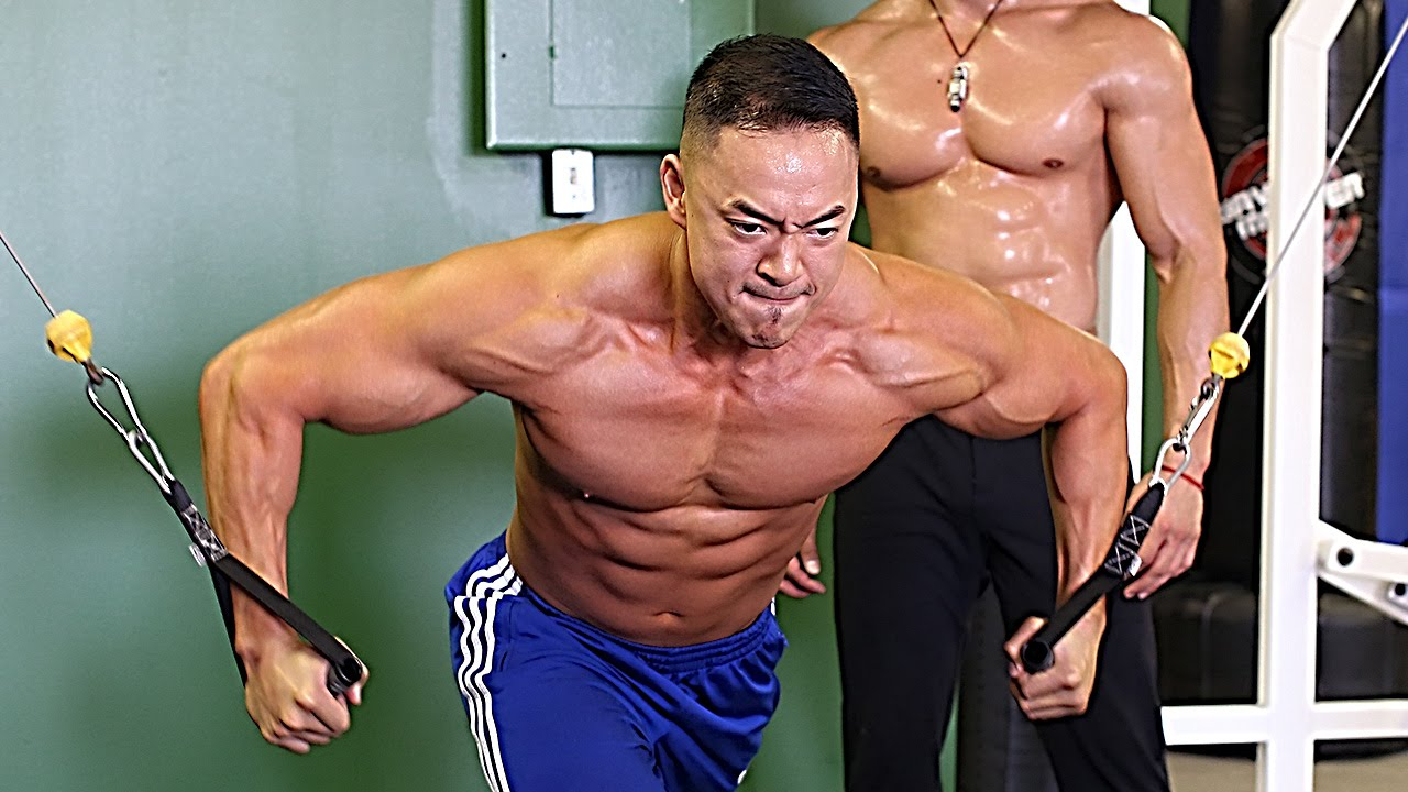 Clark s Best 5 Minute Chest Workout With Clark s Student & Former