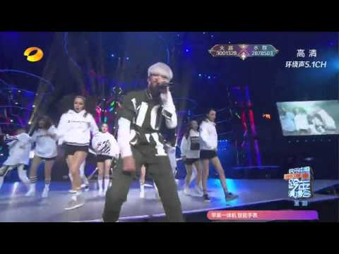 [720p]151231 Wu Yi Fan Kris-Bad Girl performance at Hunan TV new year countdown concert