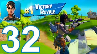 Fortnite Chapter 2 - Gameplay Walkthrough Part 32 - Solo Win (iOS)