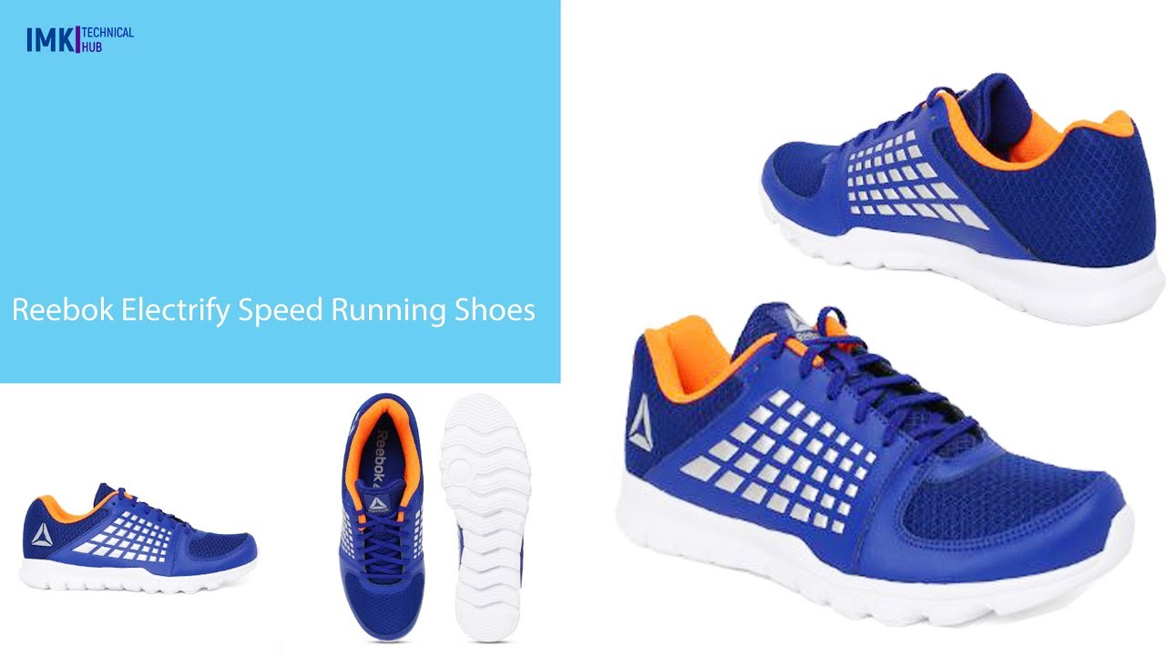 49e5033493a Reebok Electrify Speed Running Shoes Unboxing and Overview 2019 ...