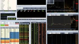 Демонстрация торговли на NYSE от Владимира Баженова
