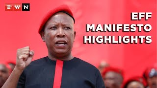 Here are the highlights from the launch of the Economic Freedom Fighters(EFF) manifesto for the 2021 local government elections, which was held at Gandhi Square, in Johannesburg, on 26 September 2021.   #EFFManifesto #LGE2021