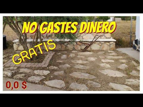 Download COMO HACER UN SUELO DE PIEDRA NATURAL GRATIS DECORACIÓN DE EXTERIOR/HOW TO MAKE NATURAL STONE FLOOR
