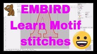 Video FREE EMBIRD TUTORIAL Learn all about motif stitches!FULL EMBIRD CLASS! download MP3, 3GP, MP4, WEBM, AVI, FLV Oktober 2018