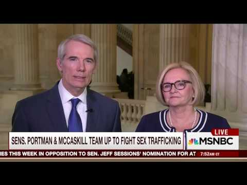 Portman Discusses Backpage Hearing with Claire McCaskill on Morning Joe