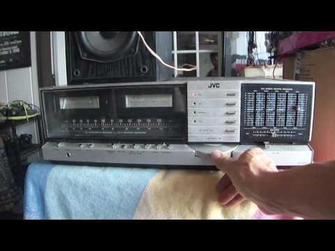 How Work Vintage JVC JR-S301 Integrated Receiver Japan